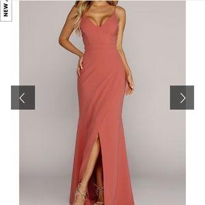 Pink maxi dress 💕